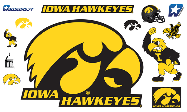 Iowa Tigerhawk Logo Iowa Hawkeyes Tigerhawk Big