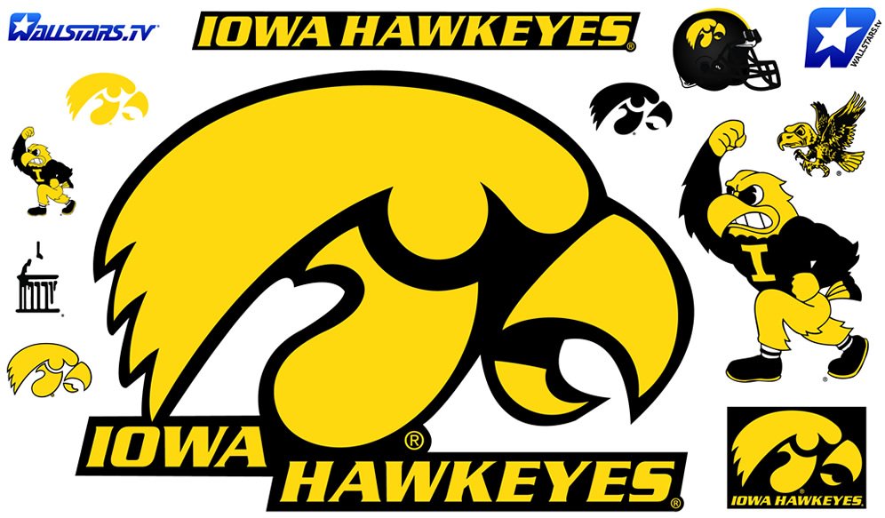 Iowa Logo Hawkeye Iowa Hawkeyes Logo