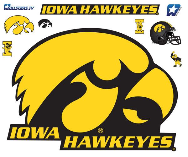 Iowa Tigerhawk Logo Iowa Hawkeyes Tigerhawk Real