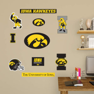 Iowa-Hawkeyes-Logo-Assortment