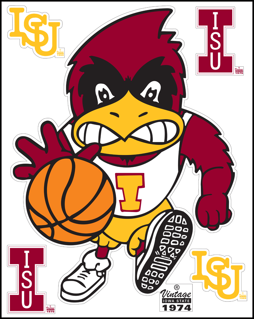 New Iowa State WallStar Layout – Vintage Cy Basketball ...