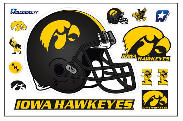 Iowa Hawkeyes Helmet WallStar