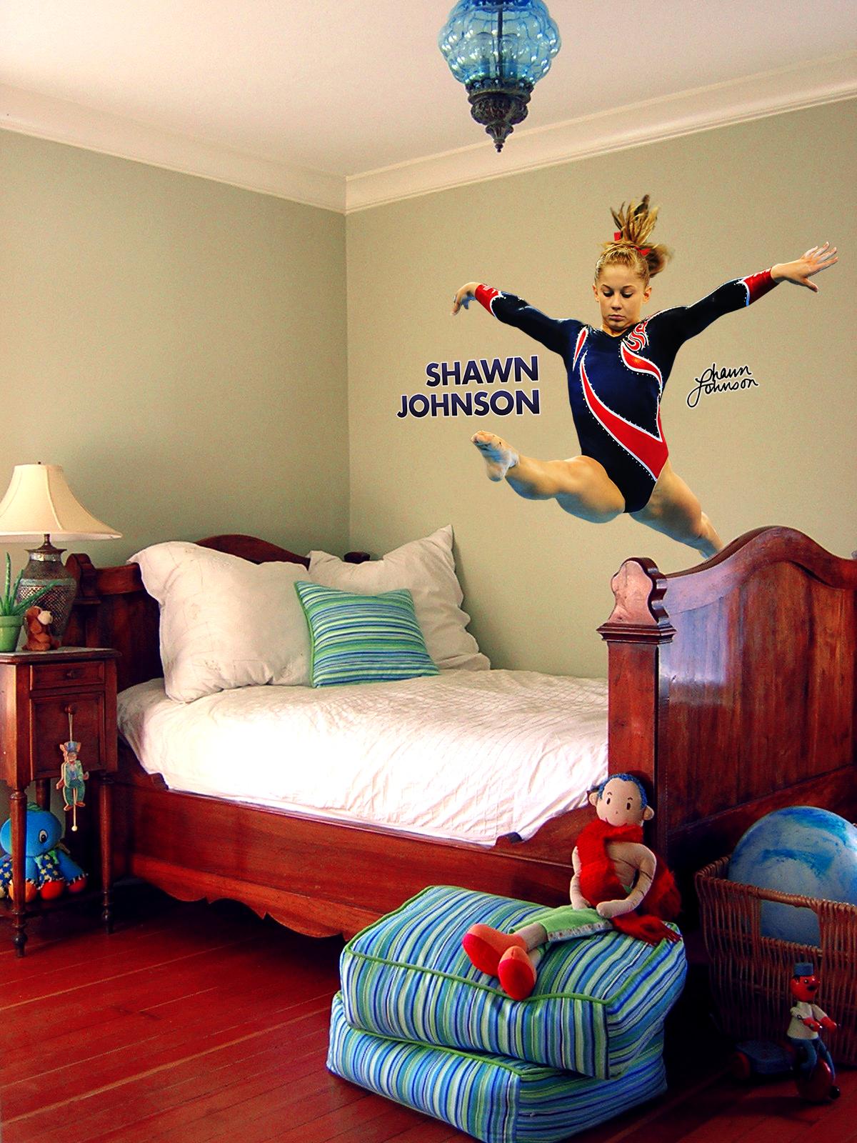 Item #209357 – Shawn Johnson Real Big WallStar : WallStars – wall ...