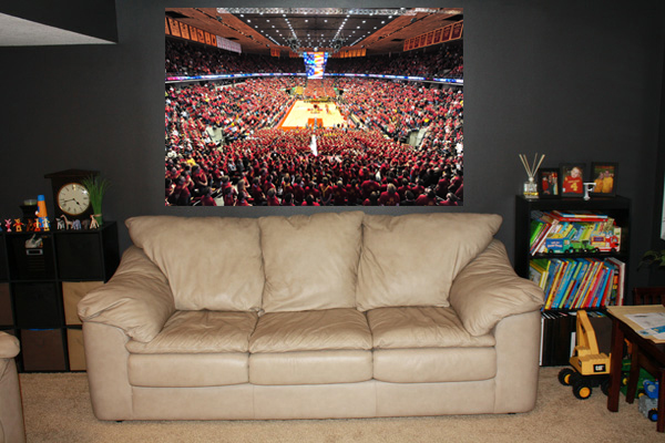 Hilton Coliseum Wall Sticker Fathead
